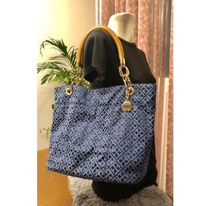 Two way/face tommy hilfiger Tote